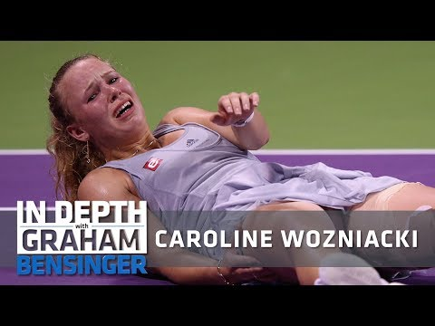 Caroline Wozniacki on injury: Like I'd been shot