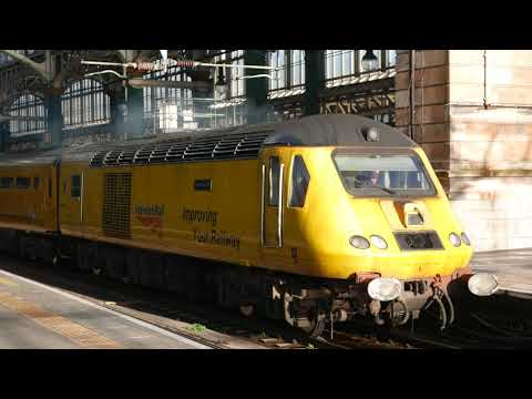 43013 And 43062 With New Measurement Train At Glasgow Central 4/12/2018