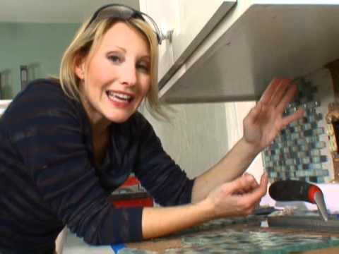 How To Tile A Backsplash Diy Network Youtube