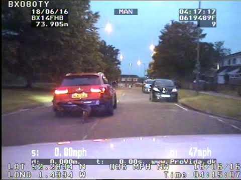 Birmingham Audi RS6 Police Chase Original Footage