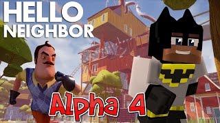 Minecraft Hello Neighbor - New Alpha 4 house Design (minecraft Roleplay)