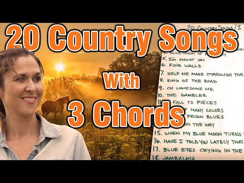 20 Country Songs With 3 Chords