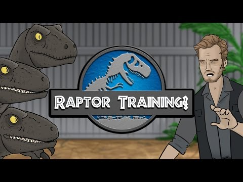 Jurassic World – Raptor Training?