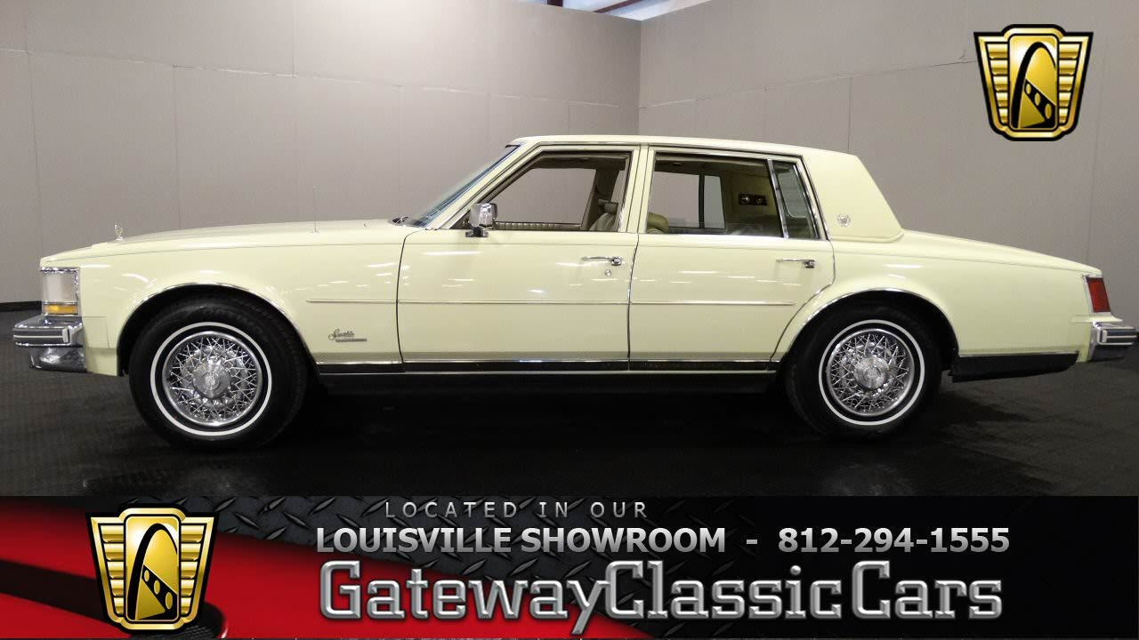 1976 Cadillac Seville Louisville Showroom Stock 885 Youtube