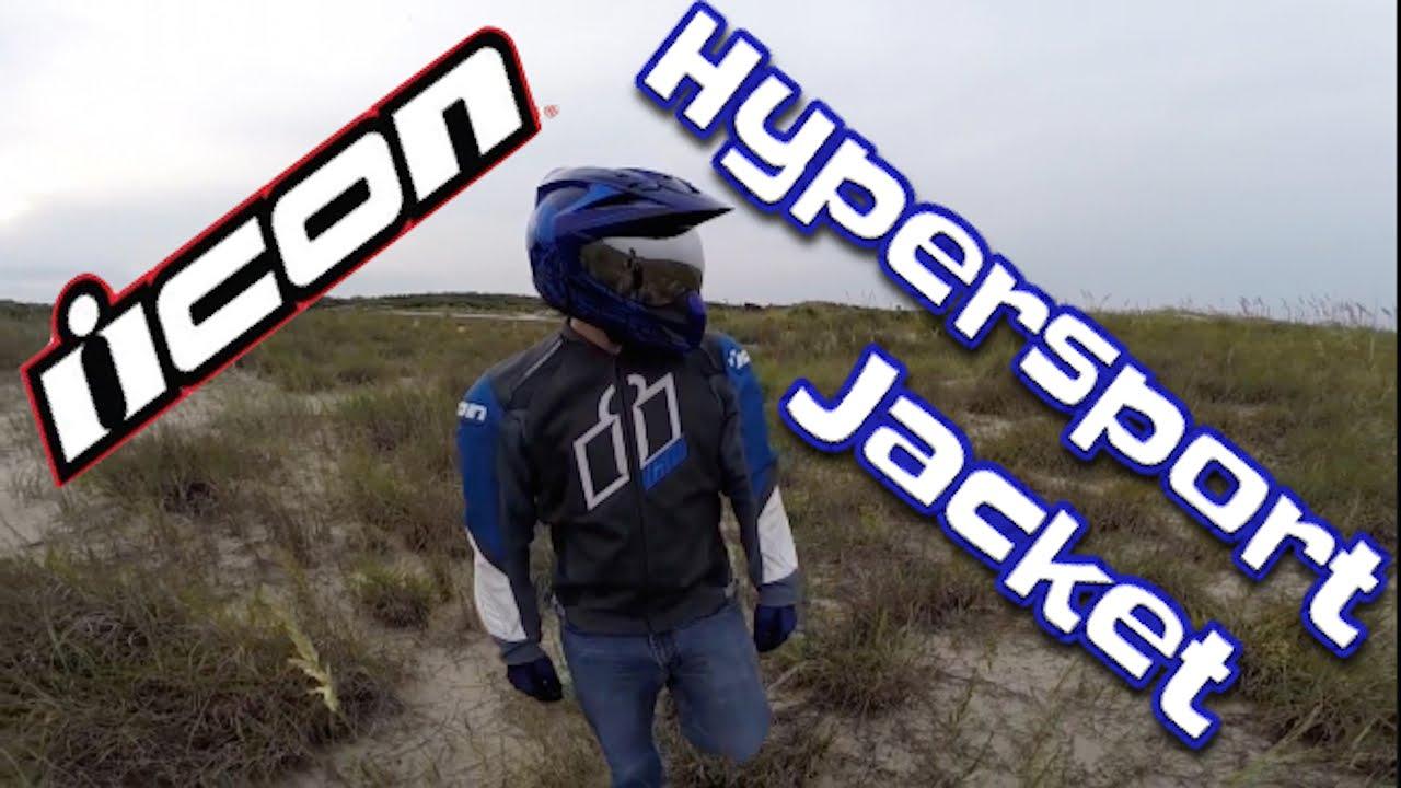 Icon Motorcycle Jacket >> Icon Hypersport Prime Motorcycle Jacket - Blue Reveal ...