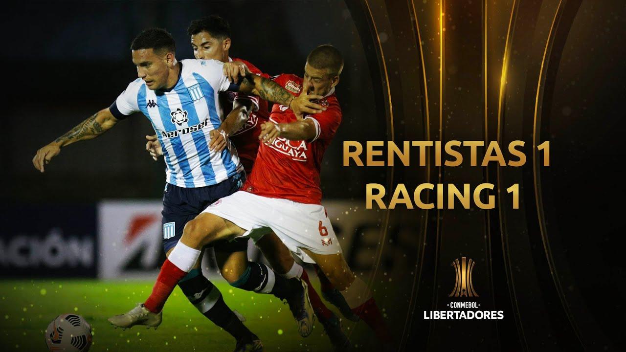 Racing jugó mal, pero rescató un empate sobre la hora ante Rentistas por la Copa  Libertadores – SOMOS JUJUY