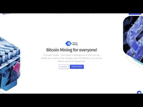 Crowd Mining io BEST Website fpr Bitcoin Mining | Cloud Mining in 2018 and 2019 FREE BITCOIN