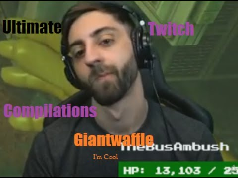 Giantwaffle ULTIMATE Twitch Funny Moments /w Lirik and Shortyyguy