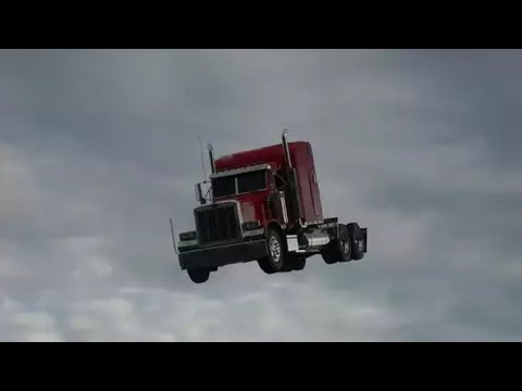 The big flying truck in gtasa Android game with proof