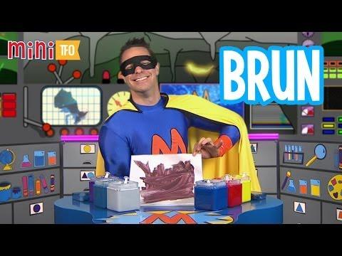 Super Mini crée des couleurs : Brun