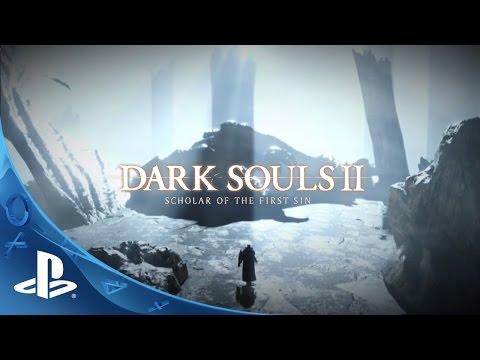 Dark Souls II: Scholar of the First Sin - Announcement Trailer   PS4