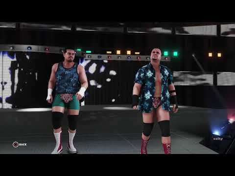 WWE 2K18 - The Colons Entrance