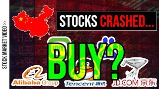 📉 Chinese Stocks have CRASHED - Is it Time to Buy? 📉