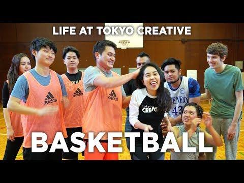 Life at Tokyo Creative: We play Basketball on Fridays