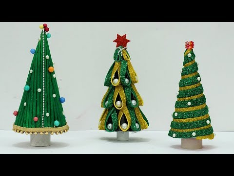 3 Unique Christmas Tree Making Ideas | DIY Christmas Tree Making at Home | StylEnrich