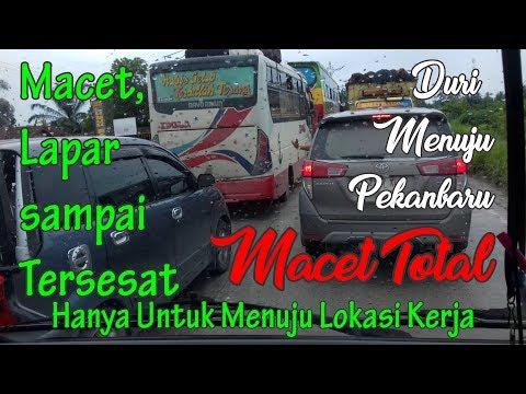 Kemacetan Panjang Melanda Duri - Pekanbaru