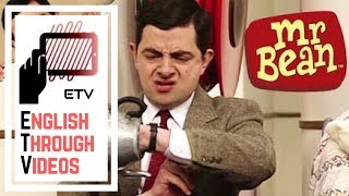 Mixed Past Tenses - Mr. Bean at the Hospital