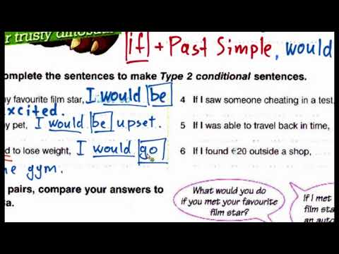 Using Type 2 Conditional Unreal Present Round Up 5 Ex