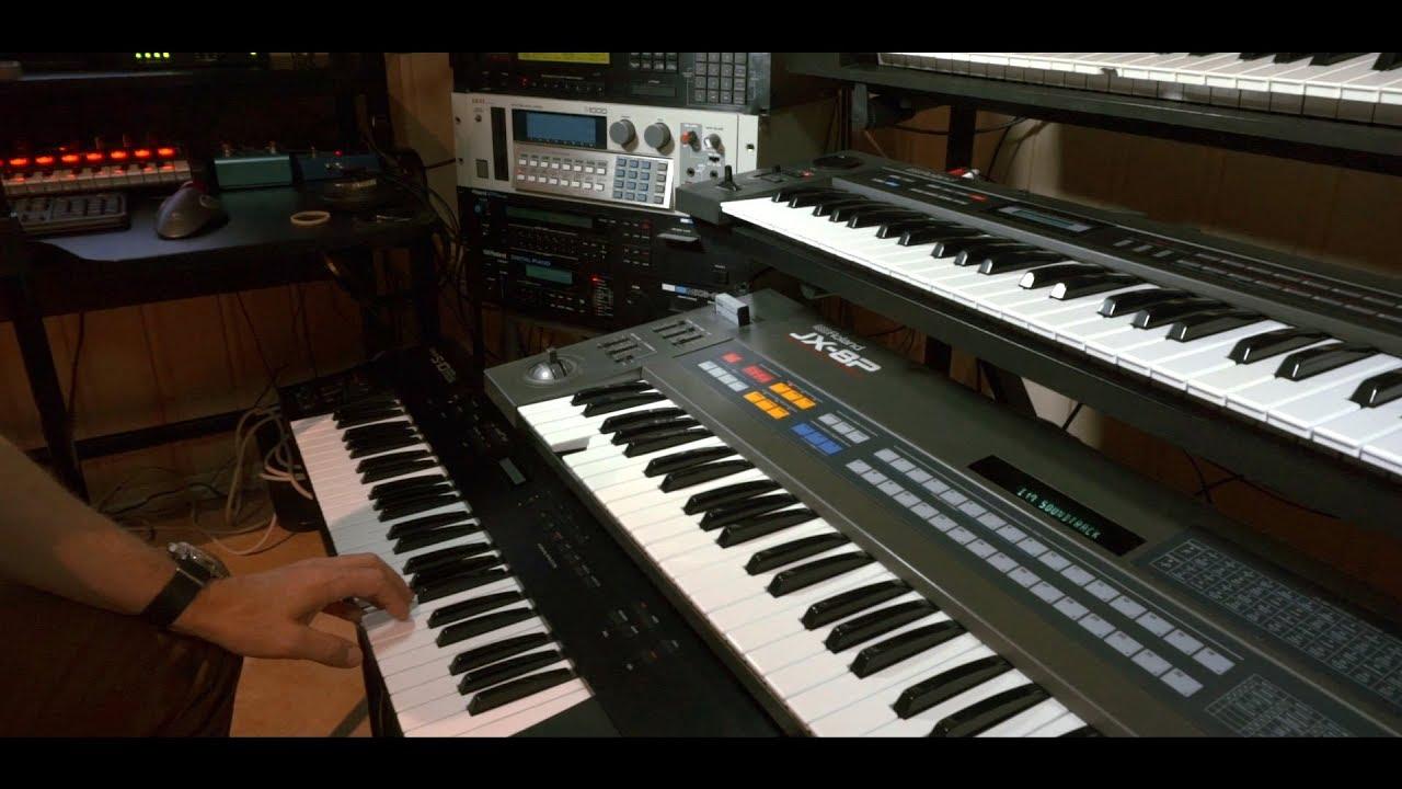 80s MIDI synthesizer setup explained - tutorial/workflow 2017
