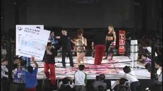 Kate Martinez vs ZaZa Sor.Aree Girls S-Cup World Tournament 2010, Japan