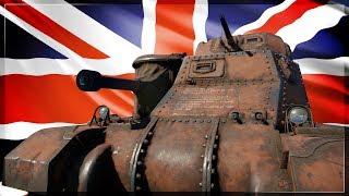 BRITISH MUTANT TANK | 2 Guns 1 Tank (War Thunder Grant 1 Gameplay)