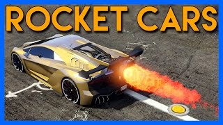 GTA 5 : CUSTOM ROCKET CARS!!!