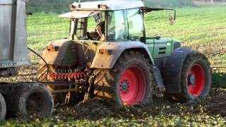 Fendt 818 vast gereden - Fendt 818 stuck