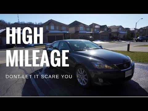 Busting MYTHS About High Mileage Cars! Lexus IS250 With 250,000K!