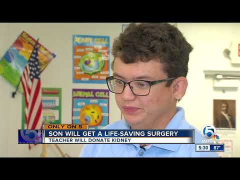 Duncan Middle School teacher donates his kidney to former student