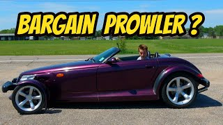 homepage tile video photo for I Bought the Cheapest Plymouth Prowler In the USA