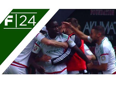 Mbengue's phenomenal overhead kick