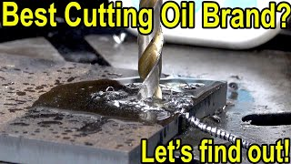 Best Cutting Oil for Drilling Metal? Let's find out! Tap Magic, CRC, Oatey, 3-in-1 Oil, Rapid Tap