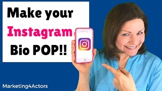 Make Your Instagram Bio Pop!