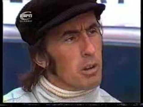 Formula One Jackie Stewart interview 1973