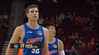 Jimmer Fredette Full Highlights 2016.10.03 at Rockets - 33 Pts, 8 Rebs, 8 Assists!