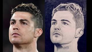 Ayobkhan Art drawing Cristiano Ronaldo
