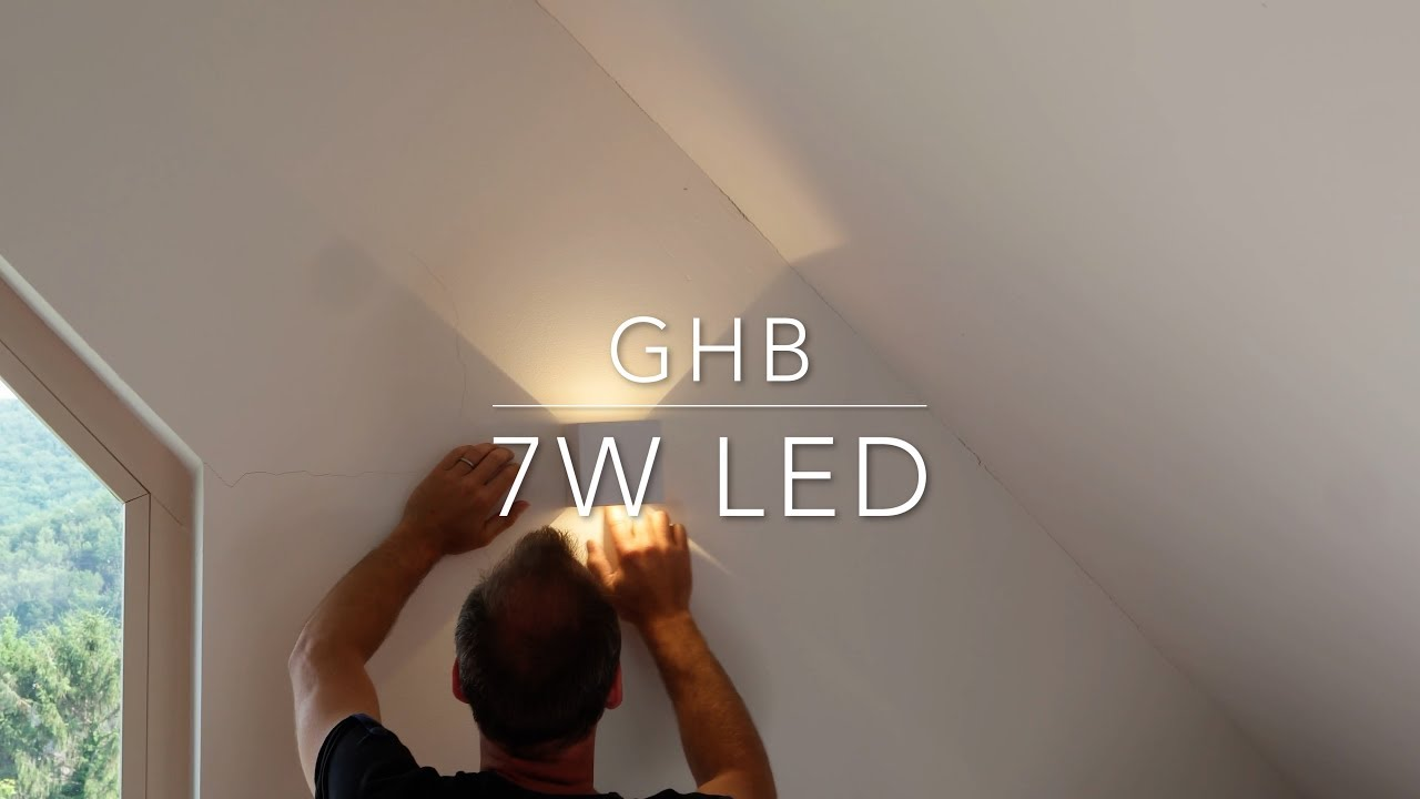 GHB Wall Sconces 7W installation - YouTube