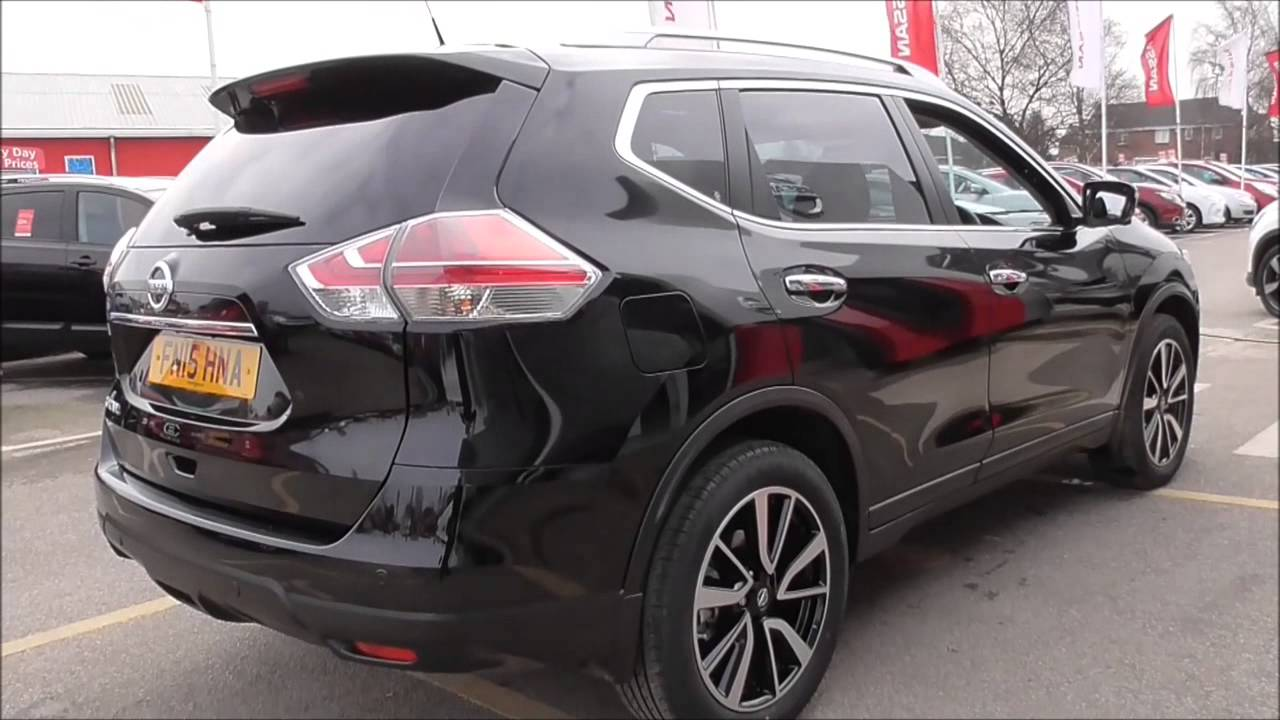 nissan x trail dci 130 tekna xtronic 7 seats u12405 youtube. Black Bedroom Furniture Sets. Home Design Ideas