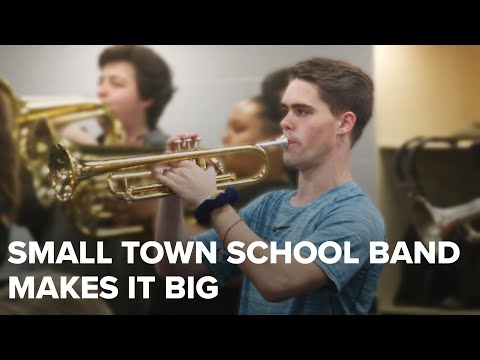 Big opportunity for small town Arkansas high school band
