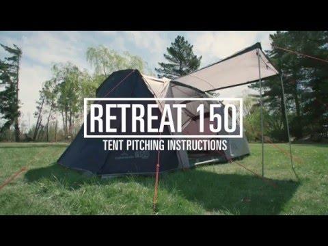 How To Pitch A Kathmandu Retreat 150 Tent