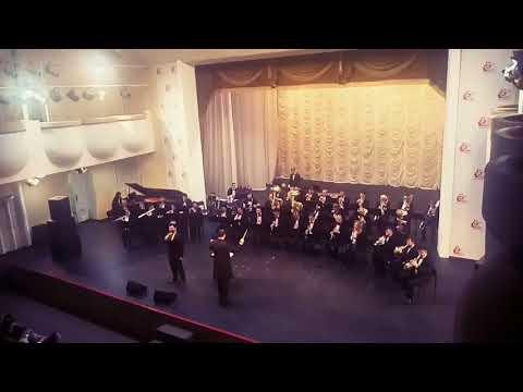 Государственный концертный оркестр духовых инструментов им.В.Еждика в день рождения филармонии