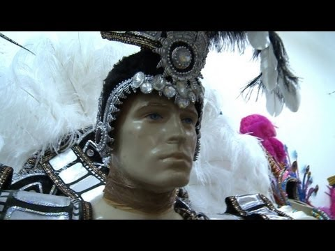 Brazil's famous Carnival costumes: Made in China