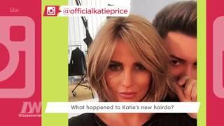 Katie Price On Her New Short Hair | Loose Women