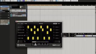 Cubase 5.5 Beat Designer Switching Patterns