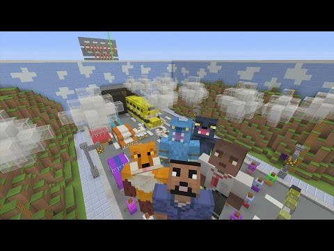 Minecraft Xbox - Hide and Seek - Traffic Jam