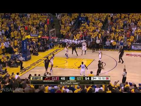 J.R. Smíth scores 8 quick points against the Warriors in Game 7 of the 2016 NBA finals