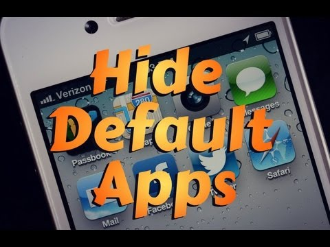 how to delete default apps on iphone how to remove default apps on ios 6 iphone 5 ipod touch 19971