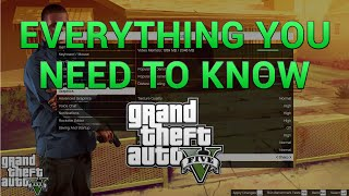 GTA 5 PC Settings Guide - Everything You Need to Know