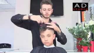 Арсен Декусар - Короткая мужская стрижка | AD studio TV | http://dekusar.com.ua