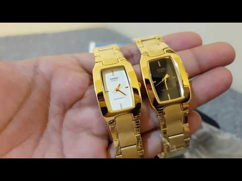 Best Seller Casio Analog Gold Ladies Watch LTP1165N-9C & LTP1165N-1C